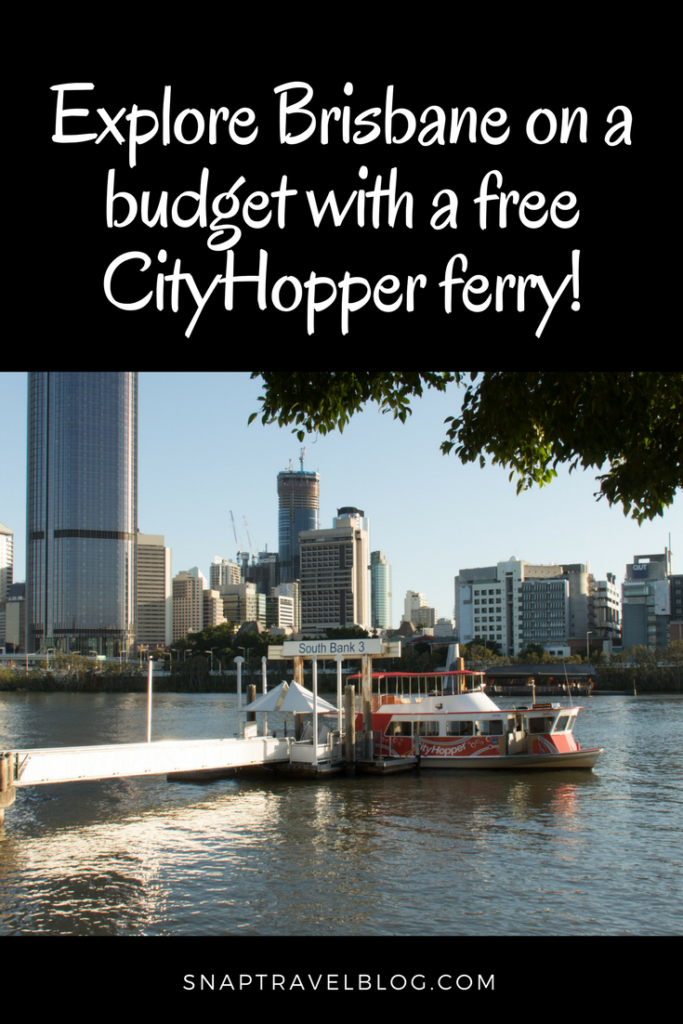 Explore Brisbane on a budget with a free City Hopper Ferry. Travel Tips for your Brisbane Holiday.