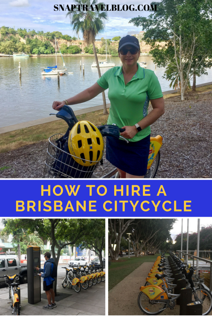 How to hire a Brisbane CityCycle or to hire a bike in Brisbane whe going on a Cycling Holiday.