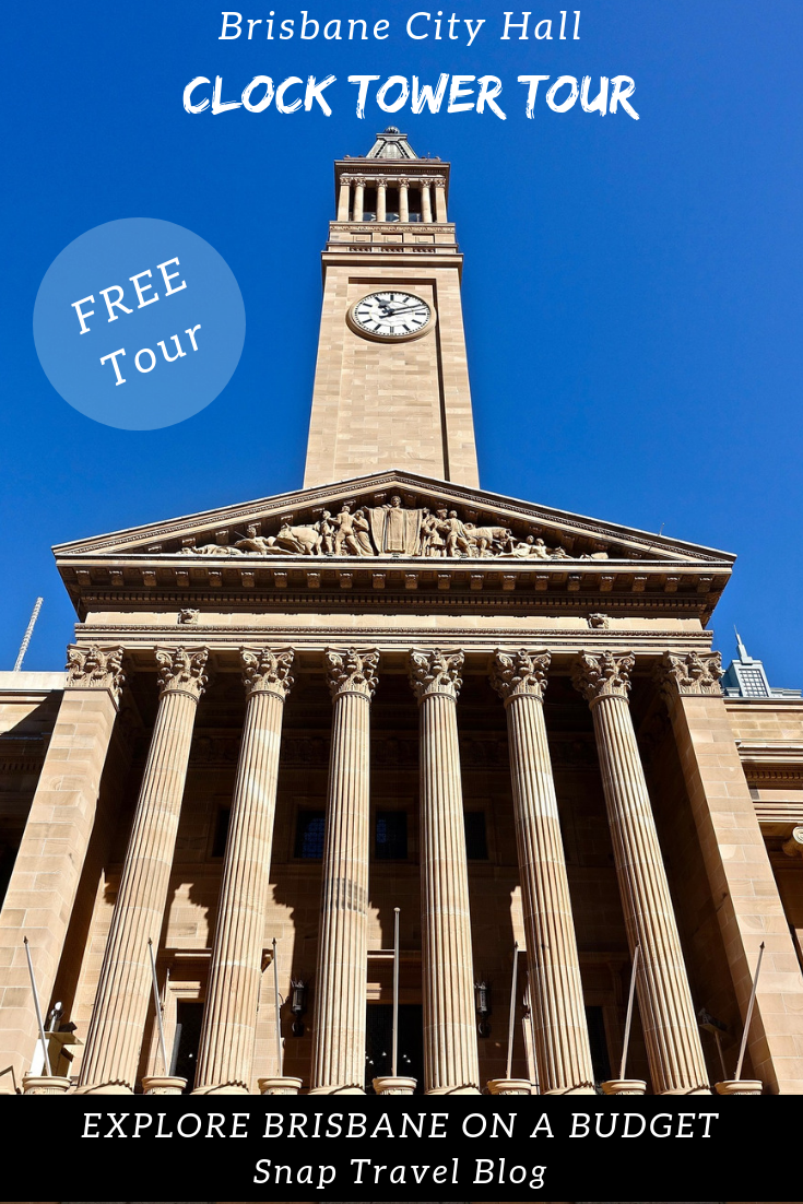 Brisbane City Hall FREE Clock Tower Tour - Snap Travel Blog
