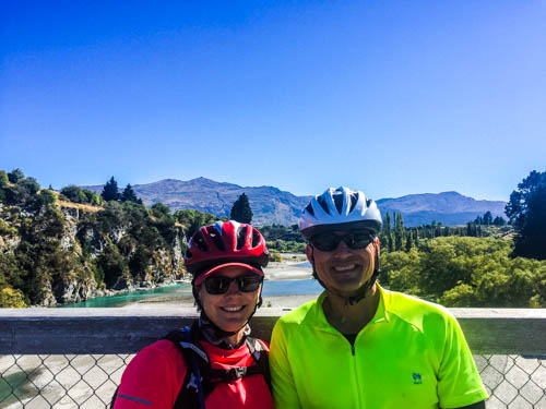 Cycling the Queenstown Trail: bikes, cheese and wine
