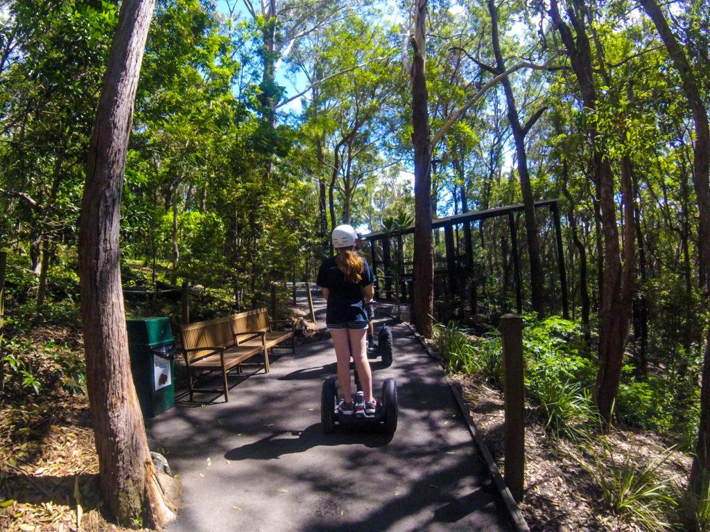 Qld Bucket List - Segway Tour - Currumbin Wildlife Sanctuary