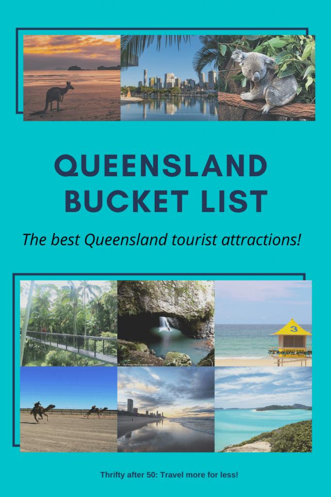 Queensland Bucket List : the best Queensland tourist attractions!