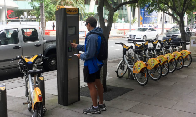 How to hire a Brisbane CityCycle