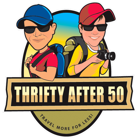 Thrifty after 50 logo