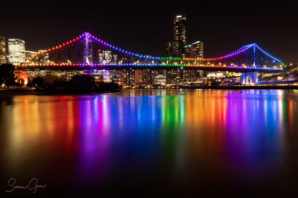 Photograph the Story Bridge Brisbane