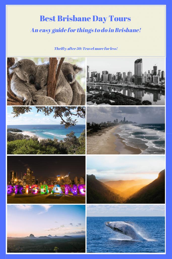 Best Brisbane Day Tours - Thrifty after 50